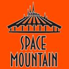 Space Mountain Black by AngrySaint