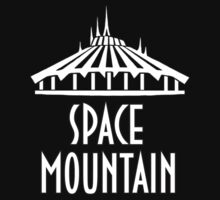 Space Mountain White by AngrySaint