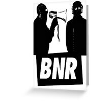 Boys Noize Records - BNR Greeting Card