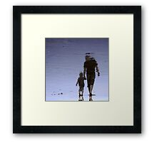 Together, we can take on the world..... Framed Print