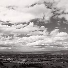 Clouds over Bathurst - NSW - Australia by Norman Repacholi