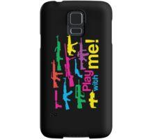 Play with me! - black-multicolor Samsung Galaxy Case/Skin