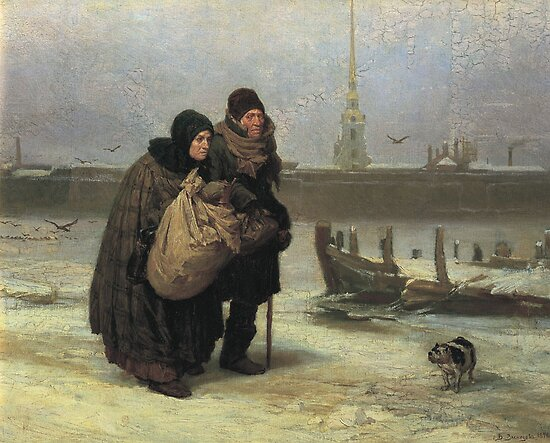 Viktor M. Vasnetsov  Moving House by Adam Asar