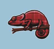 Plaid Chameleon by uncmfrtbleyeti