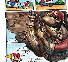 Mario on Shrooms by Tom Faraci