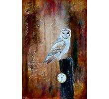Keeper of Time Photographic Print