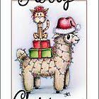 Merry Xmas from Alpaca and Cat by jenbarker