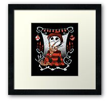 The Nightmare King Framed Print