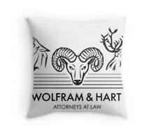 Wolfram & Hart: Attorneys at Law Throw Pillow