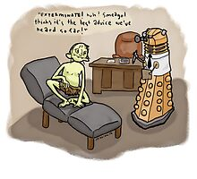 Theraputic Dalek by thesnuttch