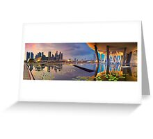 Singapore - Reflections of a City Greeting Card