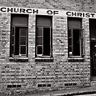 Church of Christ - Brisbane - Australia by Norman Repacholi