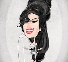 Amy Winehouse by drawgood