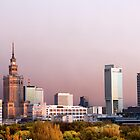 City of Warsaw Skyline by Artur Bogacki