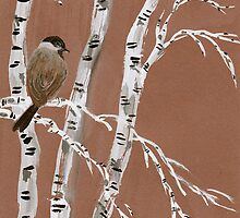 One Chickadee from Amphai by Baina Masquelier