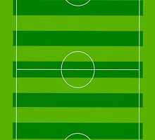 Football pitch is green by nadil