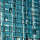 Abstract Reflection on Skyscraper Windows by Artur Bogacki