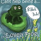 Ribbit dude! Lovely frog by Extreme-Fantasy
