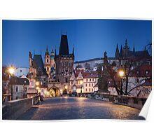 Prague Blues Poster