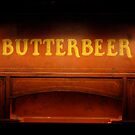 Butterbeer Sign at Night by Asteriidae