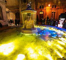 Fountain of lights by RomainChalaye