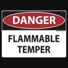 Danger- Flammable Temper by Maryevelyn Jones