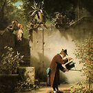Carl Spitzweg Der Blumenfreund by Adam Asar