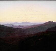 Caspar David Friedrich (19)Riesengebirge by Adam Asar