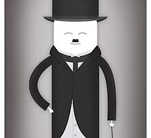 Charlie Chaplin by SuperLombrices