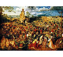 christ carrying the cross 1564 Photographic Print