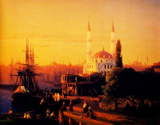 constantinople 1856 by Adam Asar