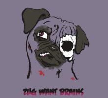 ZUG WANTS BRAINS by twisteddoodles
