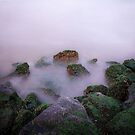 Misty Rocks by EdwardKay