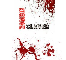 """Zombie Slayer"" iPhone/iPod Case by SumnerLee"