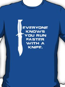 Running with Knives T-Shirt