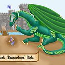 Marla's Dragon by mordechai