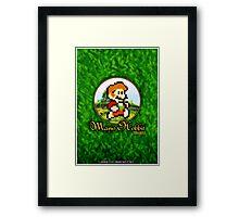 Mario Hobbit (Print Version) Framed Print