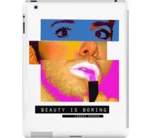 Beauty is Boring iPad Case/Skin