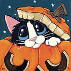Peekaboo Pumpkin by Lisa Marie Robinson