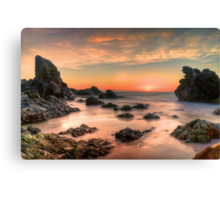 Coastal Sunrise. Canvas Print