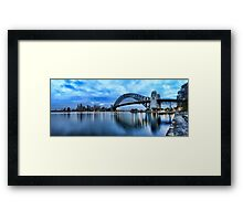 Kirribilli Dawn - Panorama Framed Print