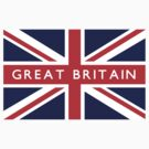 Great Britain UK Flag		 by FlagCity