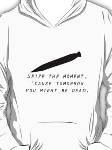 BUFFY'S SEIZE THE DAY T-Shirt