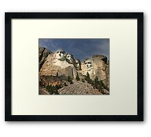 """Mt Rushmore"" Framed Print"