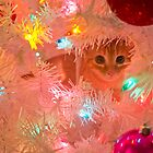 Kitty in a Christmas Tree by Jessica Liatys