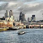 London Skyline by SkatingGirl