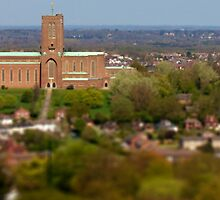 Guildford Cathedral in Surrey by SteveHphotos