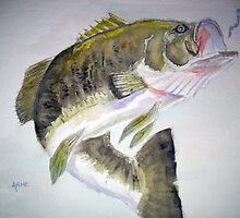LargeMouth Bass by Anne Thigpen