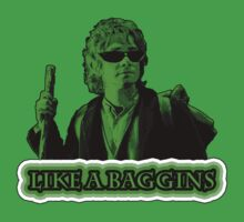 Like A Baggins [ Green + Sunglasses ] by picky62version2