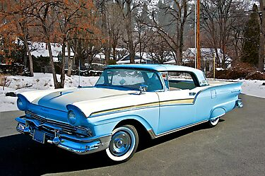 1957 Ford Fairlane Skyliner by DaveKoontz